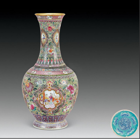 What is the value of antique porcelain?  The auction value is so high!