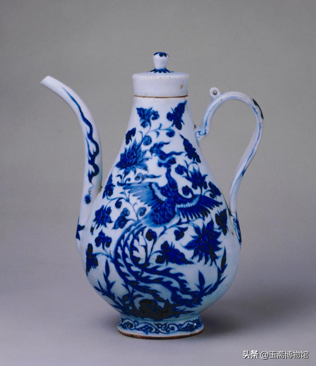 Among the treasures, the Huangyuan blue and white porcelain of porcelain, the blue and white national treasures in major museums