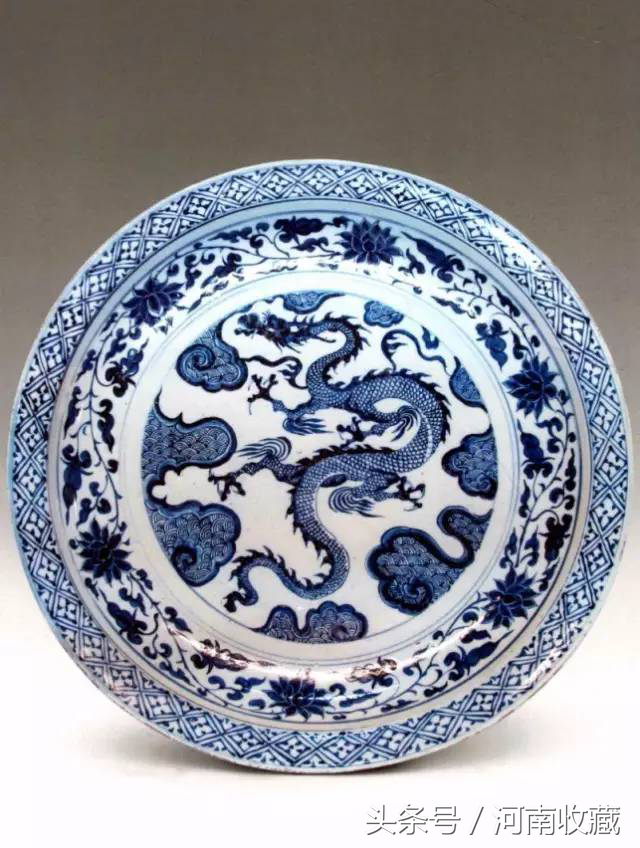 Treasures Overseas   A beautiful Chinese Yuan blue and white porcelain that is hidden by museums around the world